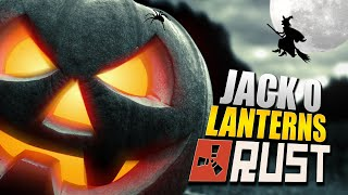 rust for dummies placing jack o lanterns