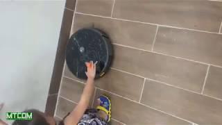 Demo Robot hút bụi lau nhà V-robot V33 - Nhà thông minh Mỹ Tho