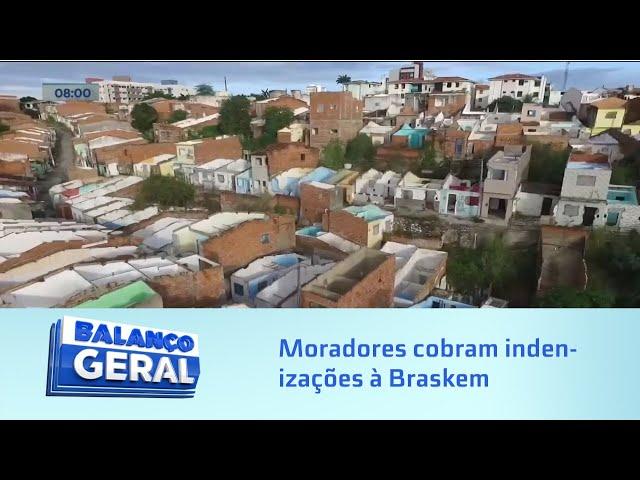 Moradores dos bairros atingidos por rachaduras sofrem com alta de alugueis e cobram indenizações