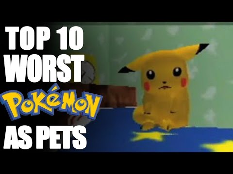 Top 10 Worst Pokémon to Have as Pets (feat. Trickywi)