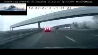 Repeat youtube video Incidente Aereo in Diretta - Air Crash on Freeway - 29.12.2012