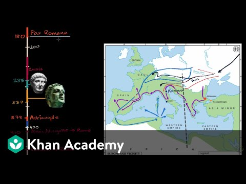 Fall of the Roman Empire | World History | Khan Academy