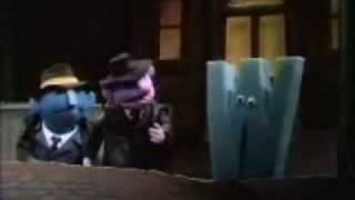 grand theft sesame street wanted letter w