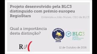 RUC   Entrevista a João Nunes - Prémios RegioStars