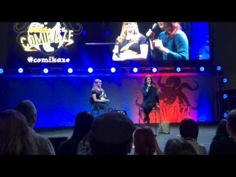 Jewel Staite on SPN at Comikaze