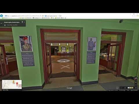 Video Dominion - Look inside Eventim Apollo Art Deco entertainment venue. London, United Kingdom