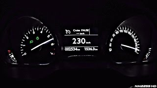 2016 Peugeot 208 GTI (208HP) 0-230km/h Acceleration Test