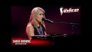 Blind Audition: Sarah Browne - Make You Feel My Love - The Voice Australia 2016