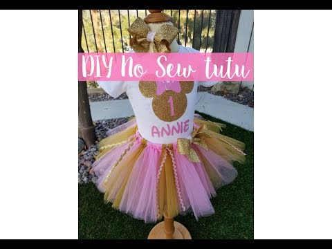 DIY No Sew Tutu | Updated | How To Make A Tutu