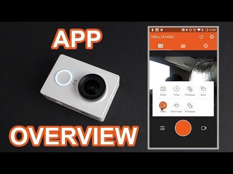 Xiaomi Yi App In-Depth Walkthrough (v2.1.1)