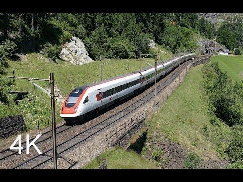 4K Passenger Trains Galore