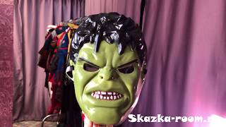 Карнавальный костюм Халка для мальчиков