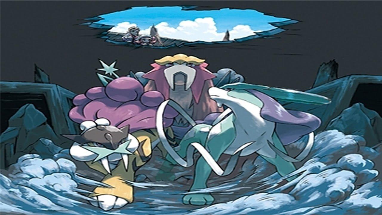 Pok mon light platinum episode 72 johto legendary beasts youtube - Pokemon platine legendaire ...