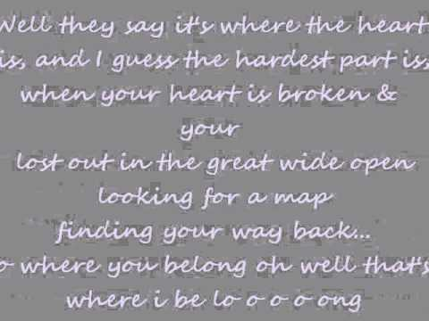 Gwyneth Paltrow Coming Home with lyrics