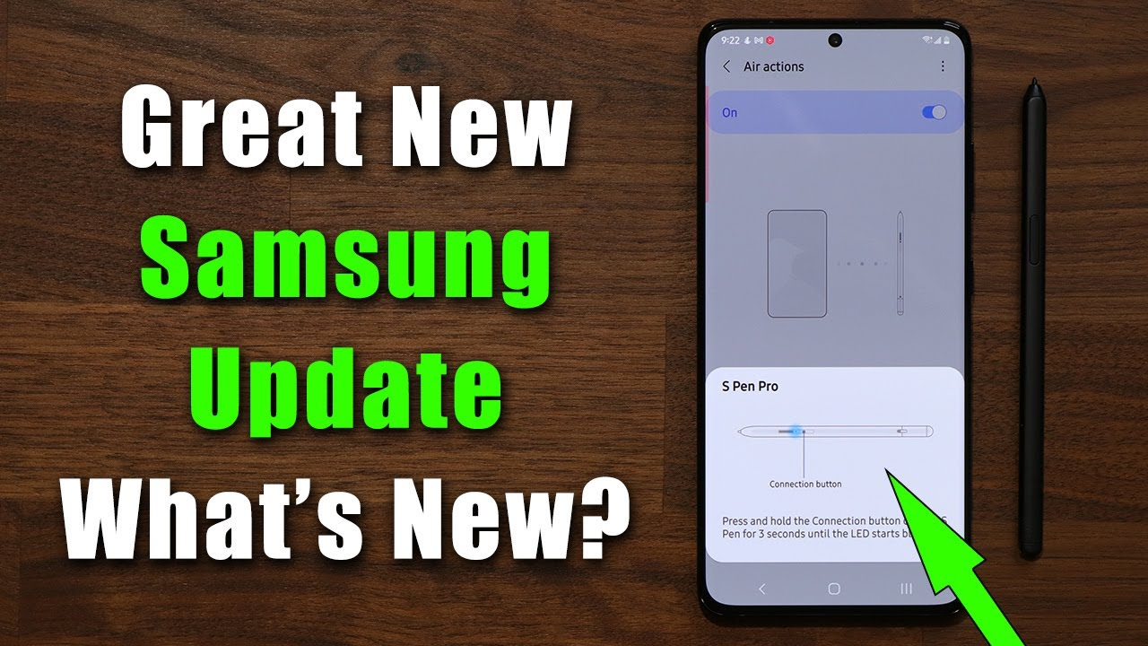 Download GREAT New Update for Samsung Galaxy S21 Ultra (One UI 3.1, 3.0, 2.5) - Powerful New Features Added!