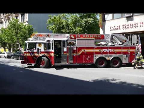 FDNY Ladder 11 goes out on BISP