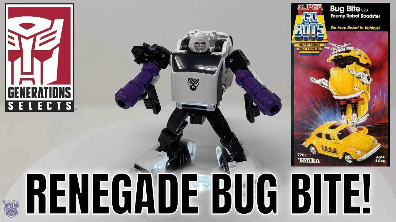 Transformers Generations Selects Bug Bite WFC-GS16 Review by Larkin's Lair