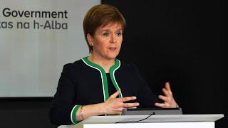 Watch again: Nicola Sturgeon unveils plan to lift lockdown in Scotland