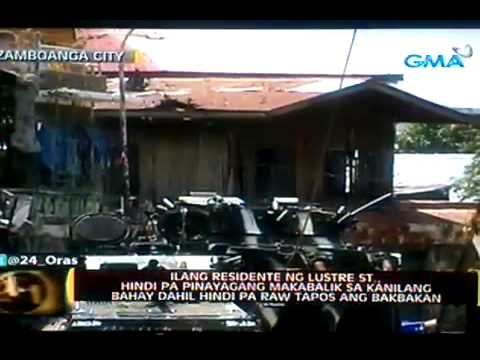 War in Zamboanga City   Abandoned Place  Sept  18 2013 part 2 Travel Video