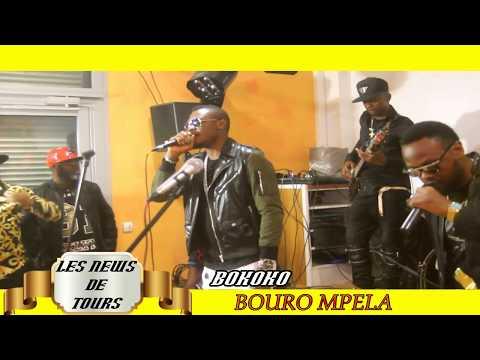 Concert Bokoko à Tours avec BOURO MPELA(Image les News de Tours)