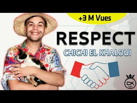 Chichi El Khaloui - Respect -(كـلـمـات قاتلـة ) Lyrics / شـيـشـي الـخـلـوي