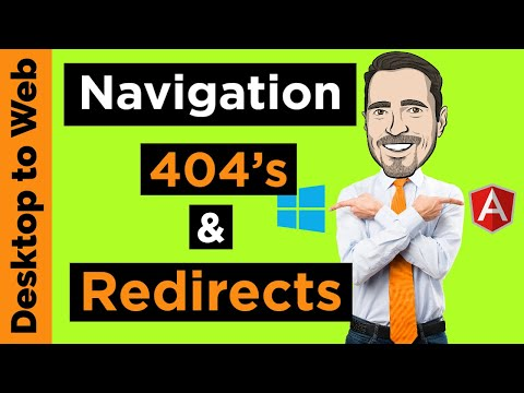 Desktop To Web: Navigation Redirects And Page Not Found In Angular 9