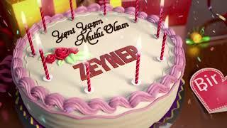 İyi ki doğdun ZEYNEP   İsme Özel Doğum Günü Şarkısı