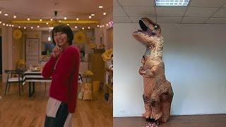 t-rex dancing 星野 源 恋ダンス 【逃げ恥】暴龍跳 月薪嬌妻 戀舞