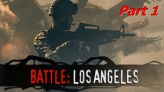 Battle: Los Angeles The Game Part 1 Gameplay Blind (HD,DE,Ps3)