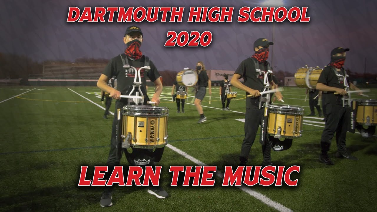 "LEARN THE MUSIC | Dartmouth High School | ""Behind The Mask"" Snare"