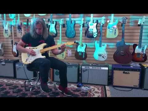 Denver Guitar Legend Danny Masters at National Music Gear