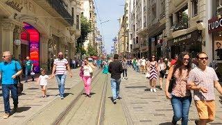 İstiklal Street, İstanbul Walking Tour 2018 ᴴᴰ