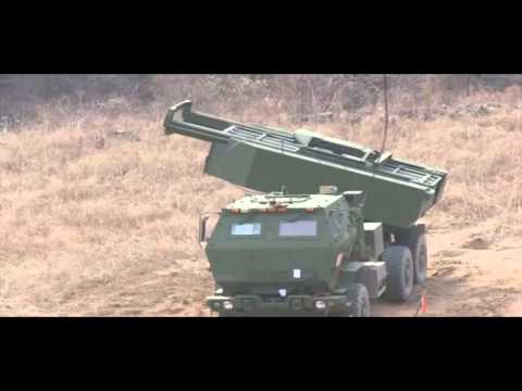 The ATACMS (Army Tactical Missile System) live fire exercise