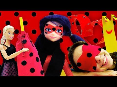 Поделки в стиле Леди Баг - Сборник видео для девочек