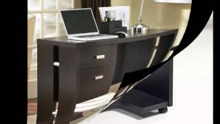 Black Computer Desk Latest Design
