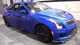 2018 Cadillac ATS V Coupe - Exterior and Interior Walkaround - 2018 Chicago Auto Show