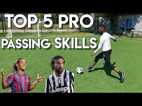 TOP 5 MAGIC PASSING SKILLS - PASS LIKE A PRO