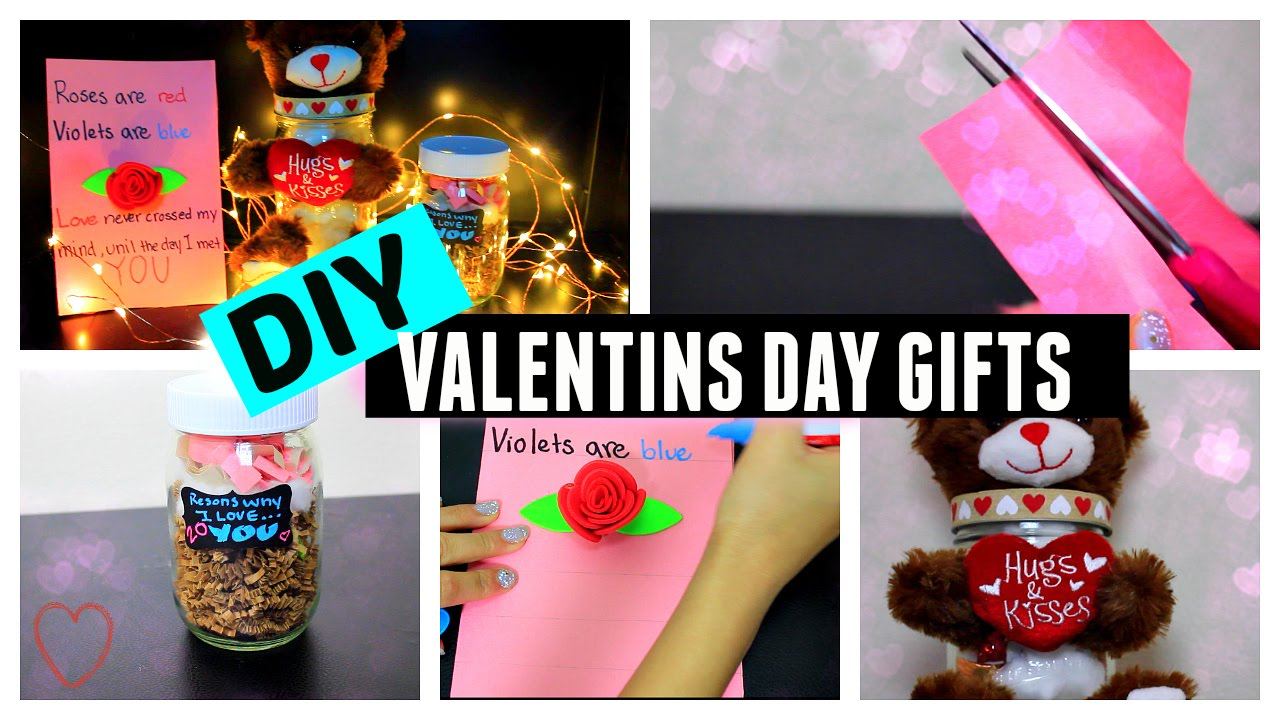 Diy valentine 39 s day gift ideas for him her youtube for Valentines day gift ideas her