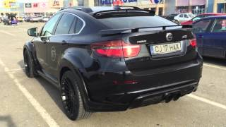 Bmw X6 Hamann Motorsport Start Up Exhaust