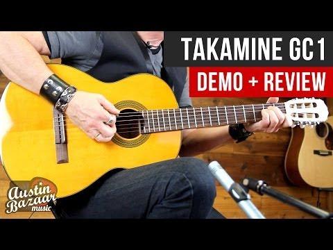 Takamine GC1 G-Series Classical Acoustic Guitar Demo