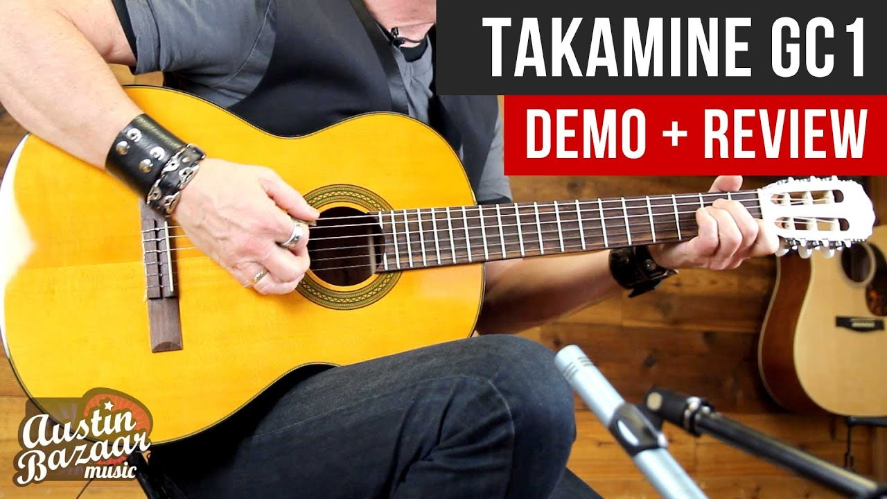 Takamine GC1 G Series Classical Acoustic Guitar Demo