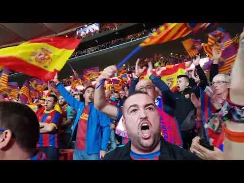 Aplausos al himno de España