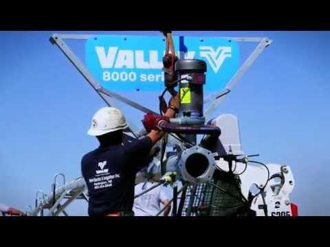 Building a Valley Center Pivot Irrigation Machine (no text) - Valley Irrigation