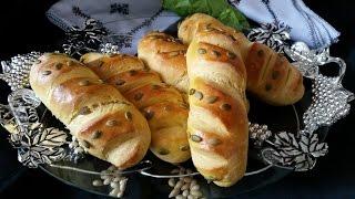 Pumpkin Bread  Healthy And Delicious - خبز بالقرع الأحمر رائع و مفيد - Pain Citrouille