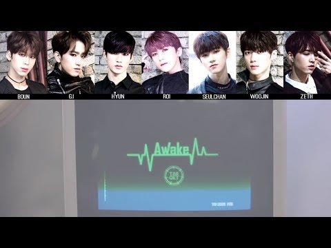 TARGET - Awake MV + Lyrics Color Coded HanRomEng