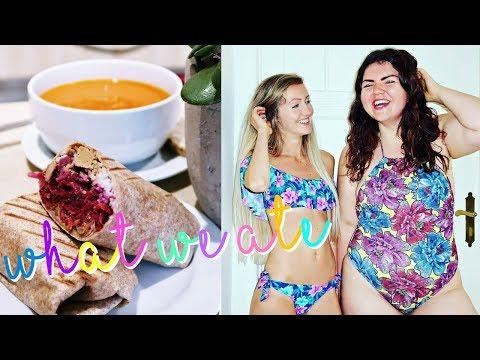 WHAT WE ATE TODAY🍑 Vegan Girls in Berlin!