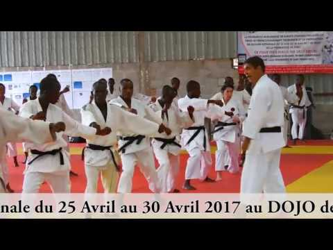Karate Burundi - stage de perfectionnement technique avec Se