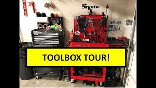 My beginner's automotive toolbox tour!