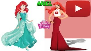 Principesse Disney Rappresentare le reti sociali ( YOUTUBE, FACEBOOK, TWITTER...)