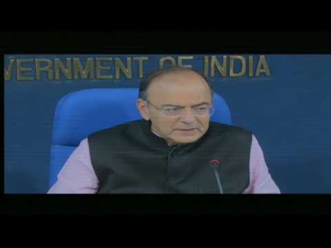 Cabinet Briefing by Finance Minister Shri Arun Jaitley